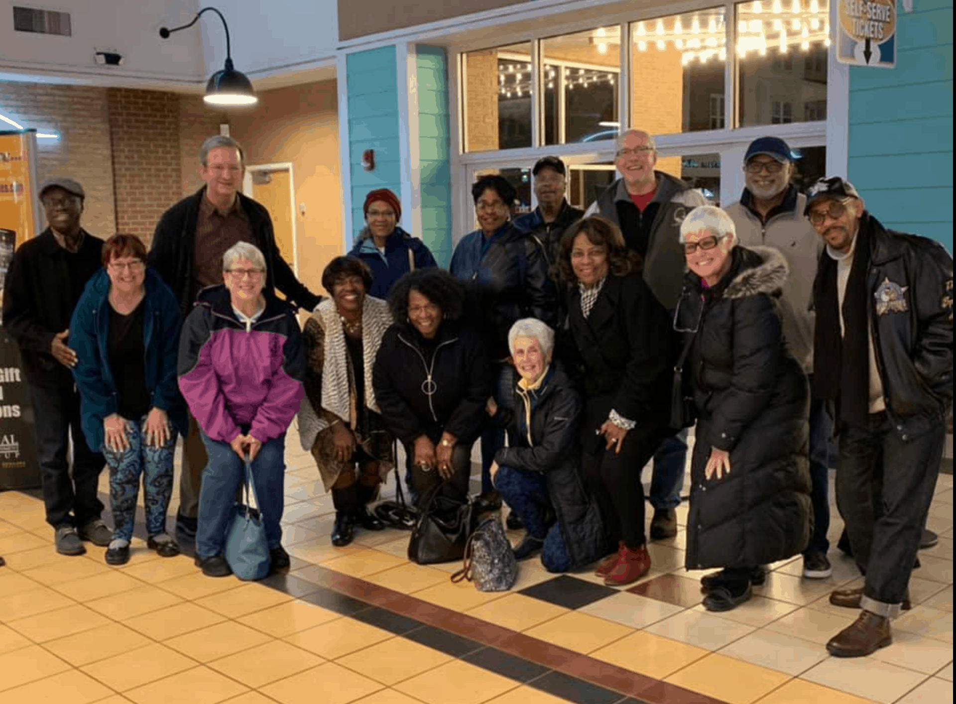 Small Group members attending movie: Green Book