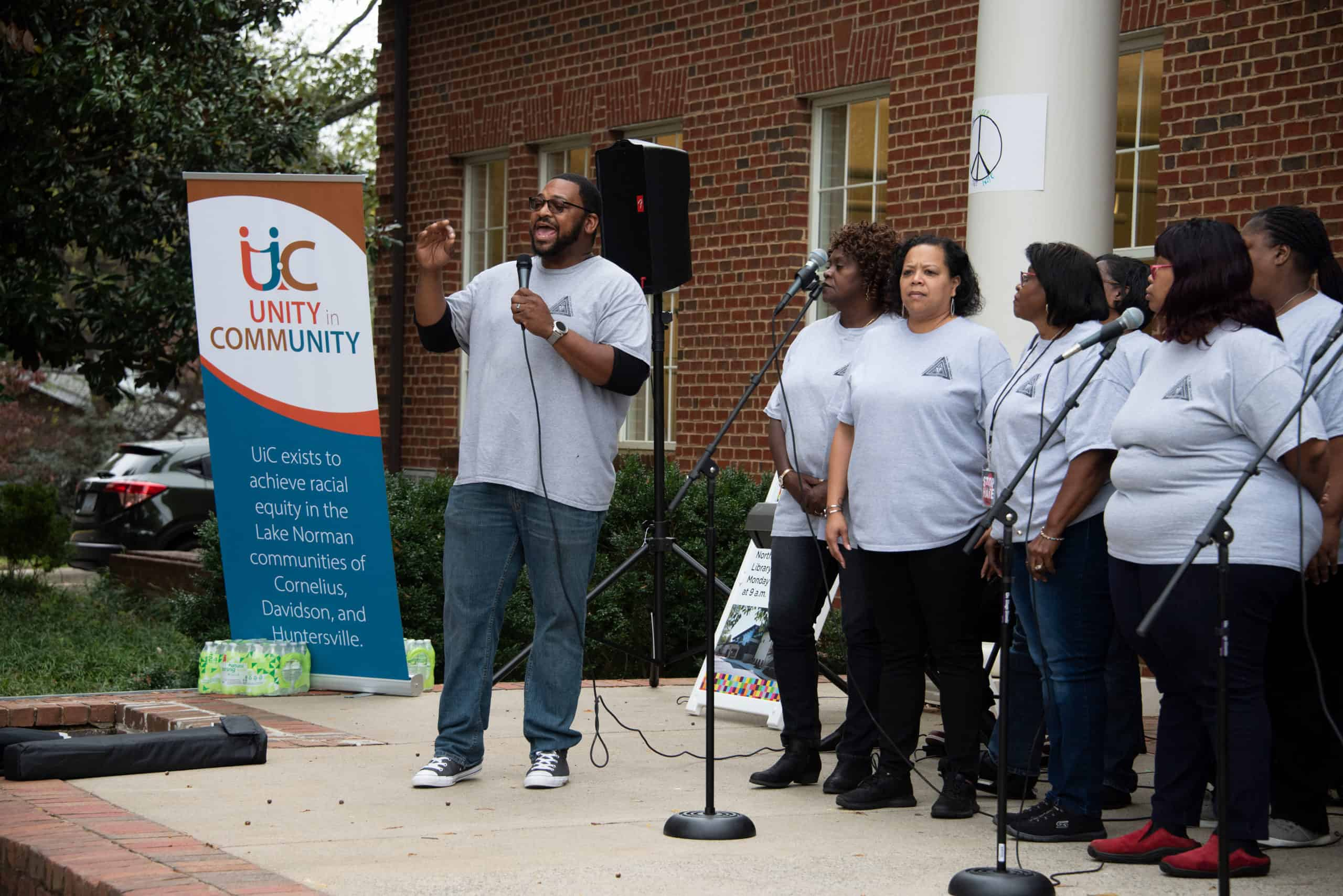2019 Stop The Hate Rally gospel singers