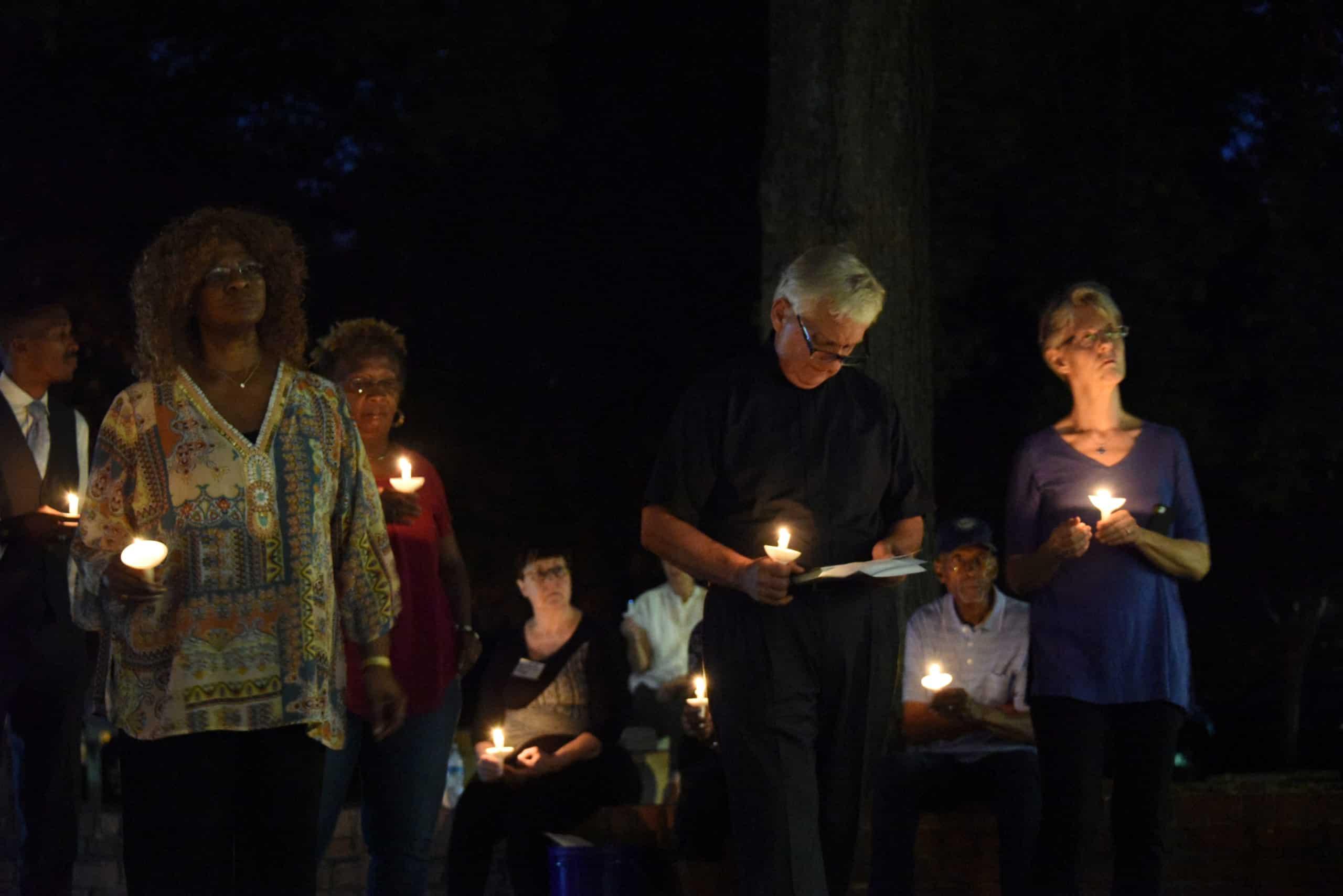 2019 Community Prayer Vigil attendees