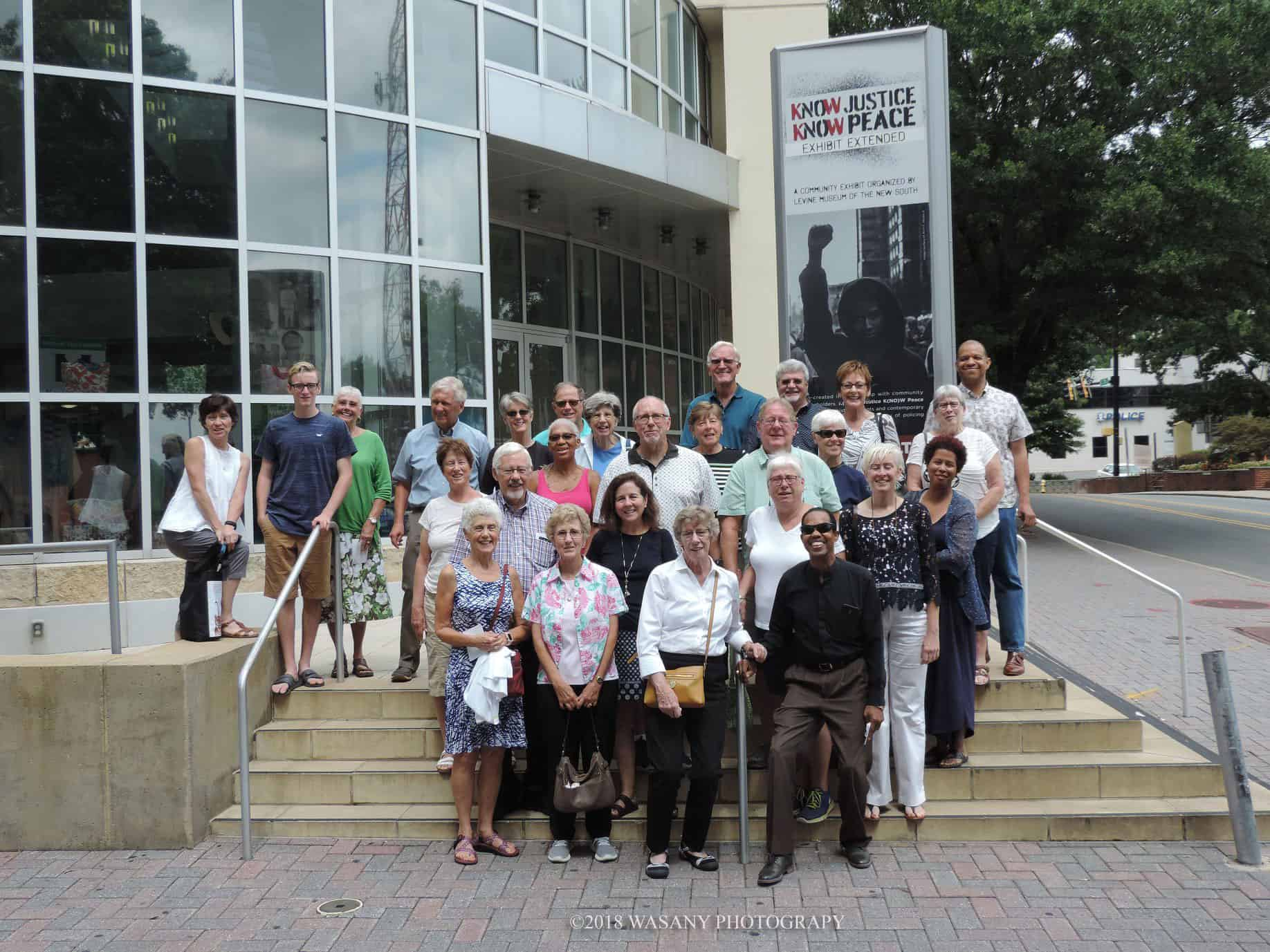 UiC Supporters attend K(NO)W Justice K(NO)W Peace exhibit
