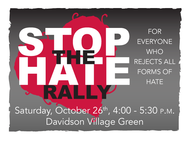 Stop The Hate Rally
