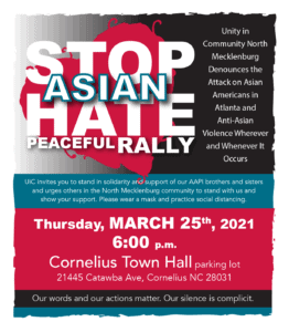 Stop Asian Hate Peaceful Rally