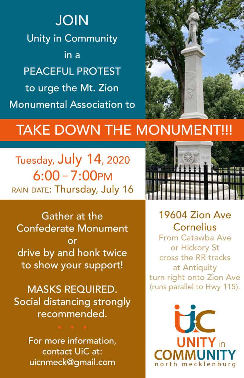 Take Down the Monument